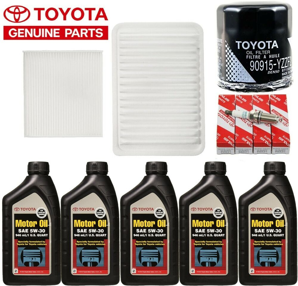 2003 2008 Toyota Corolla Oem Tune Up Kit With Oil Change