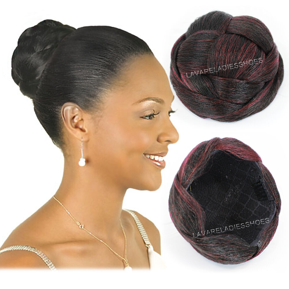 bijoux realistic synthetic bun dome comb clip in hair. Black Bedroom Furniture Sets. Home Design Ideas