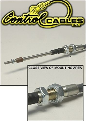 Push Pull Control Cables : Control cable push pull throttle inches long for