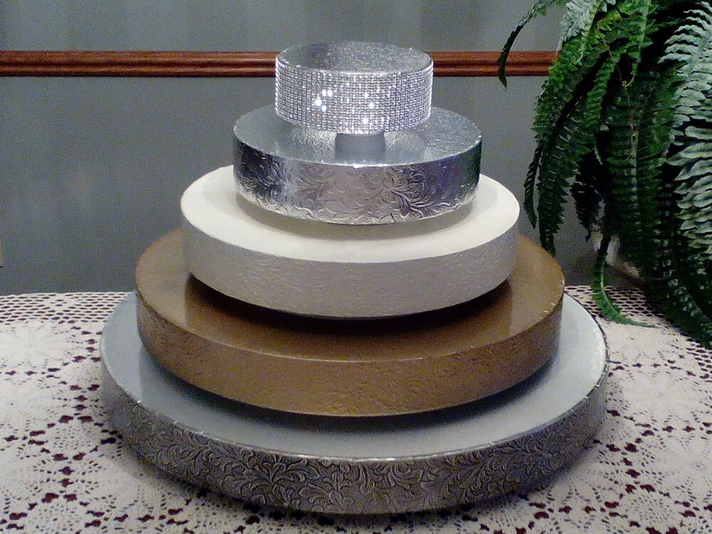 Wedding Cake Bases Gold