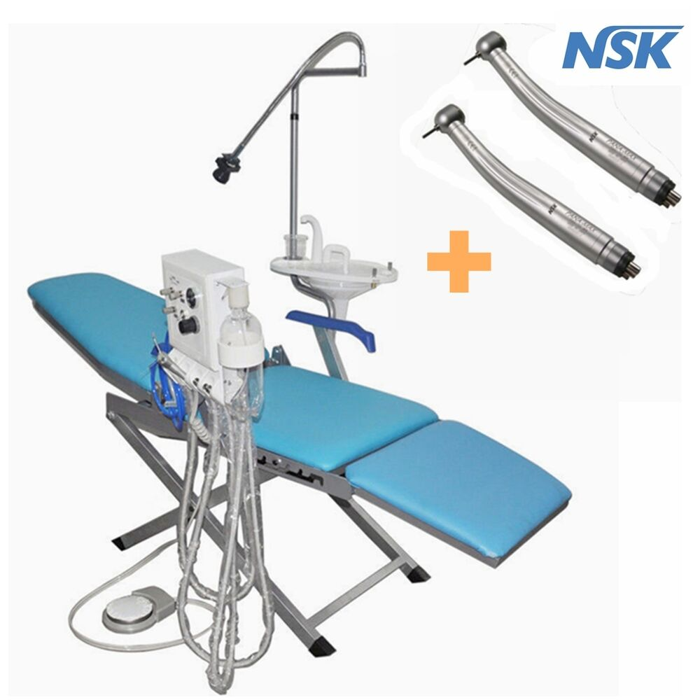 Dental Portable Folding Chair Mobile Unit Turbine Unit