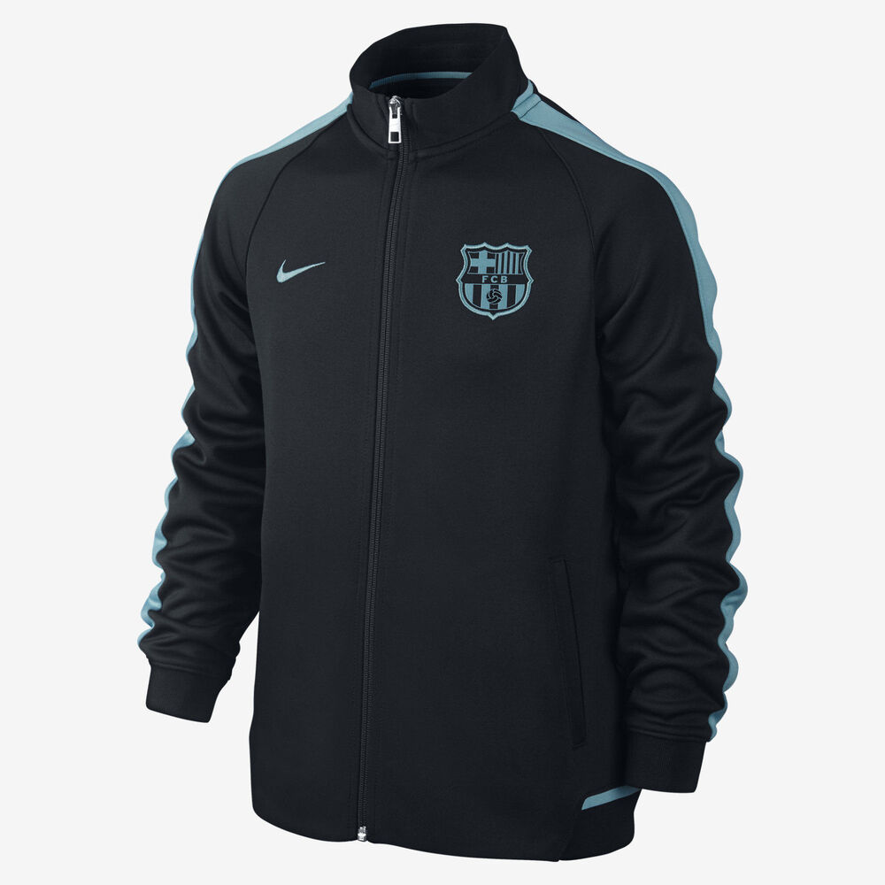 nike fc barcelona authentic n98 youth jacket night rising. Black Bedroom Furniture Sets. Home Design Ideas