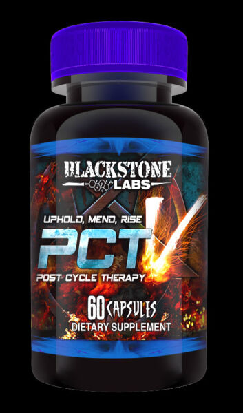 NEW BlackStone Labs PCT V (PCT 5),Post Cycle Therapy,Eradicate,Natural Test