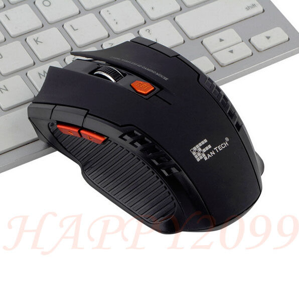 2 4ghz mini portable wireless optical gaming mouse mice. Black Bedroom Furniture Sets. Home Design Ideas