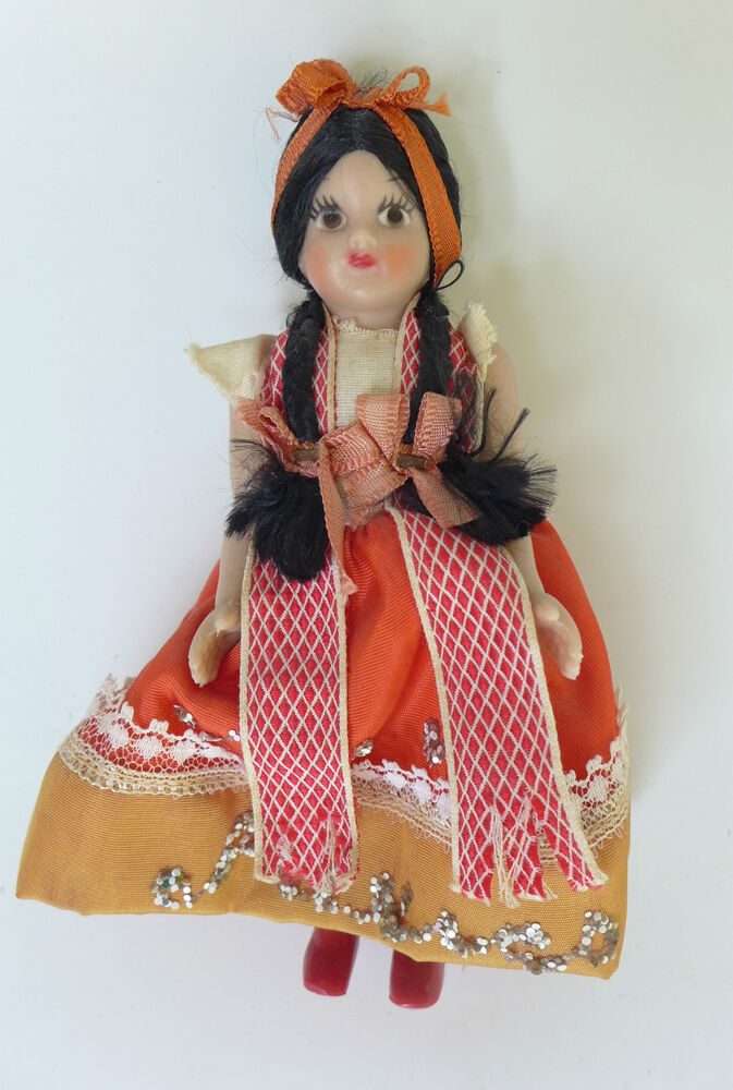 Probably, were vintage mexican doll