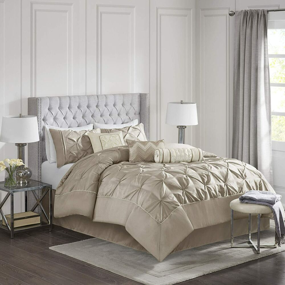 modern bedding sets beautiful chic modern contemporary taupe beige brown 11301