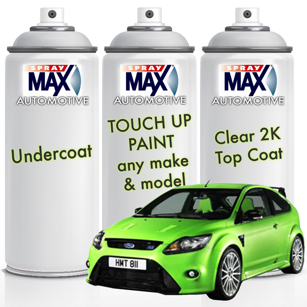 auto car custom touch up spray paint 2k value pack undercoat colour. Black Bedroom Furniture Sets. Home Design Ideas