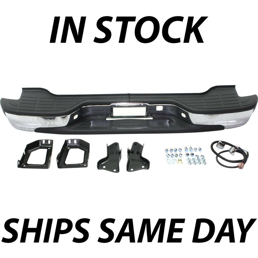 Tahoe 2004 chevy tahoe front bumper : NEW Complete Chrome Rear Bumper for 2000-2006 Chevy Tahoe Suburban ...