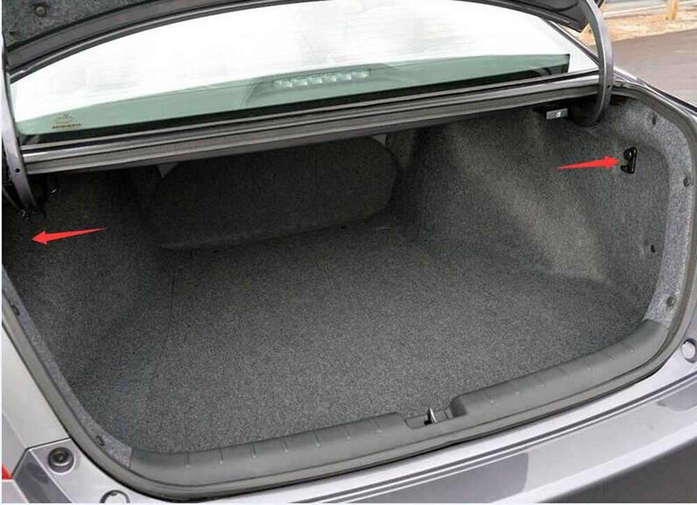 Envelope Style Trunk Cargo Net For Honda Accord Coupe 2