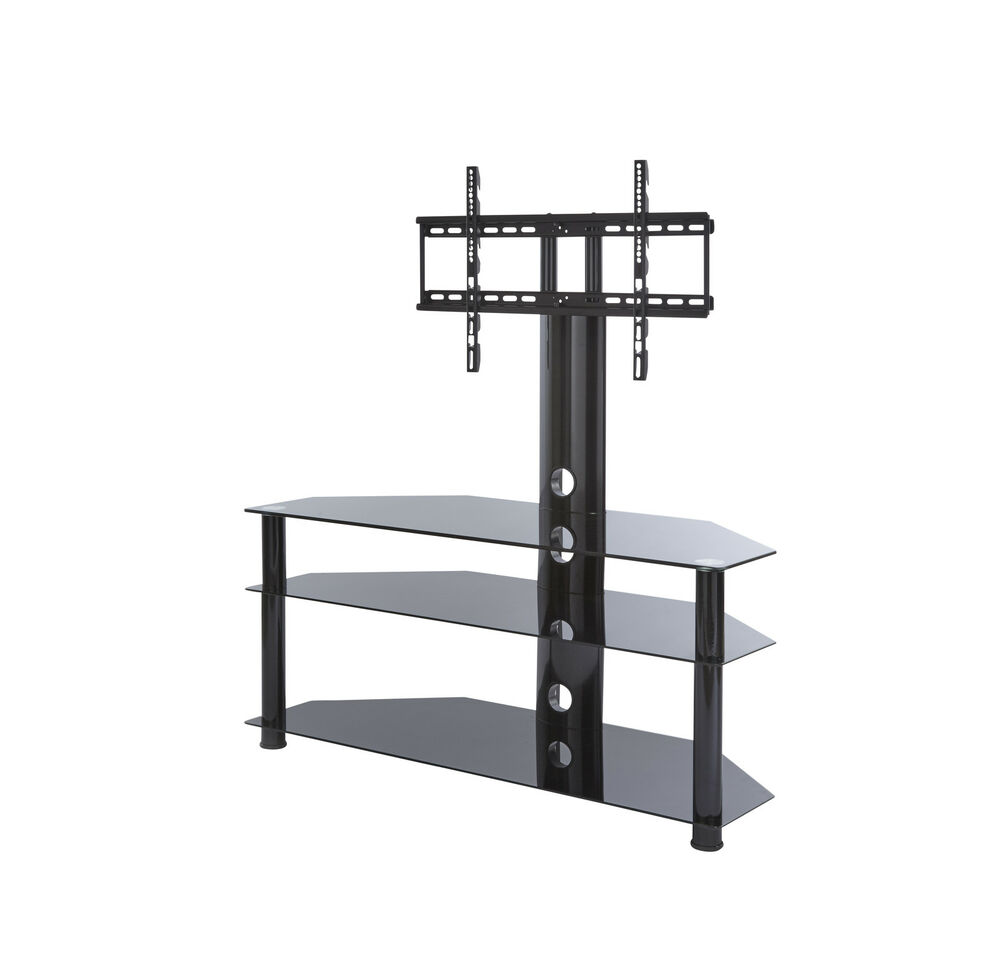 Tv stand with swivel mount bracket for 32 65 inch lcd for Best 65 inch tv mount
