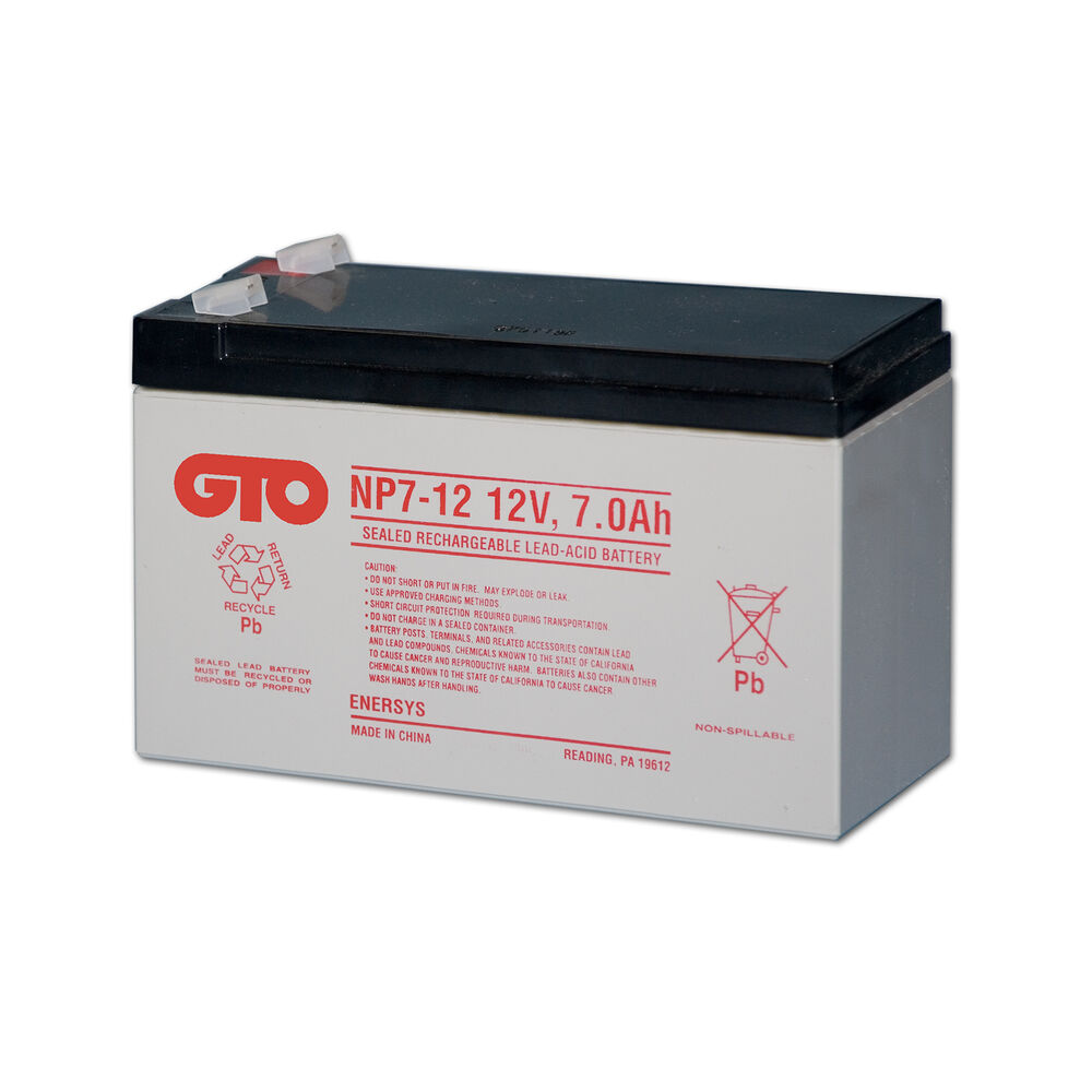 Mighty mule sw2000 replacement battery gto mighty mule for 12 volt door opener