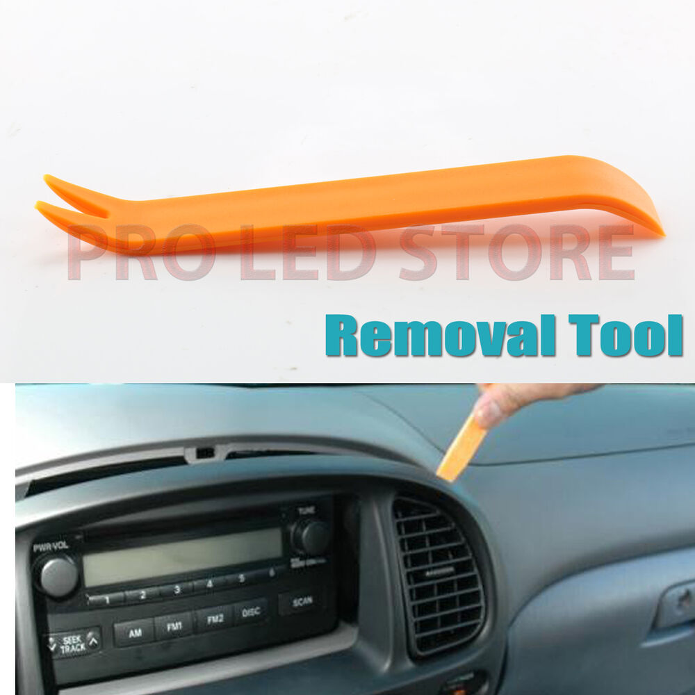 1 universal panel removal tools car dash door radio trim interior panel molding ebay. Black Bedroom Furniture Sets. Home Design Ideas