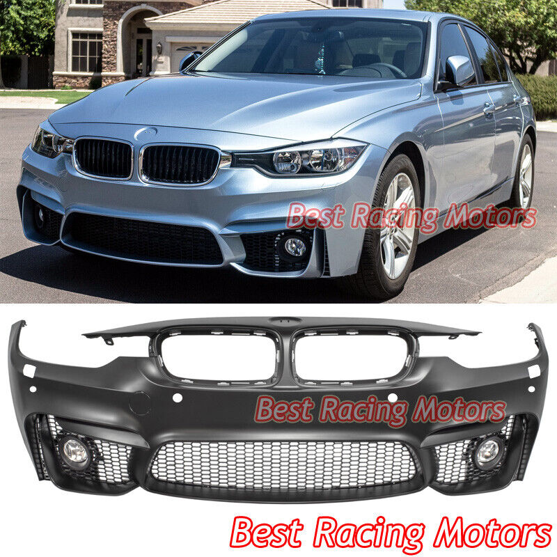 M3 F80 Style Front Bumper Fog Fit 12 18 Bmw 3 Series F30 Sedan F31 Touring Ebay
