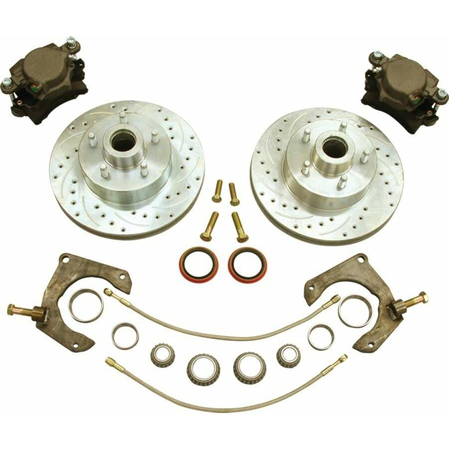 mustang ii disc brake kit ford bolt pattern 2 ifs front. Black Bedroom Furniture Sets. Home Design Ideas