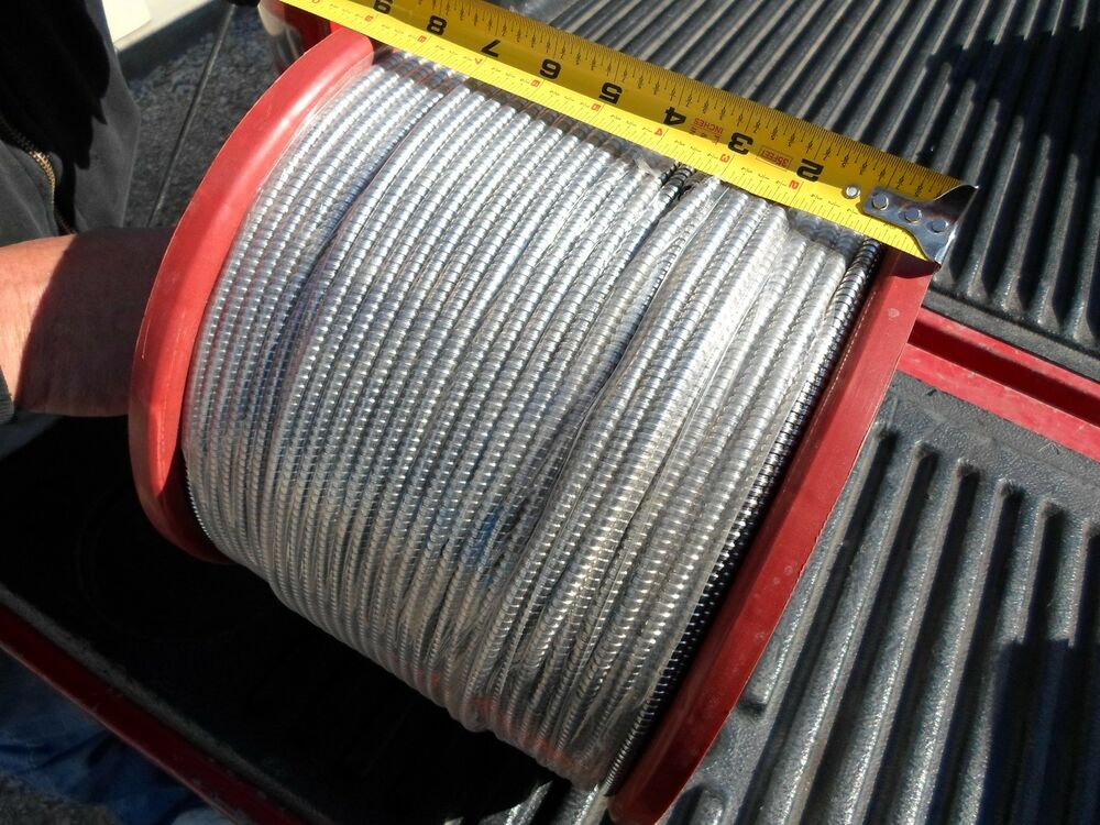 Armored Cable Stainless : Roll quot id flexible armored cable stainless