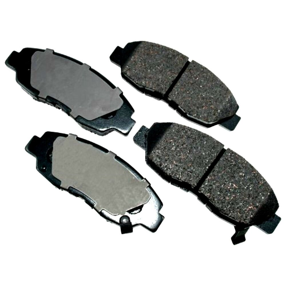 honda acura front brake pads semi metallic el accord civic insight front pads ebay. Black Bedroom Furniture Sets. Home Design Ideas