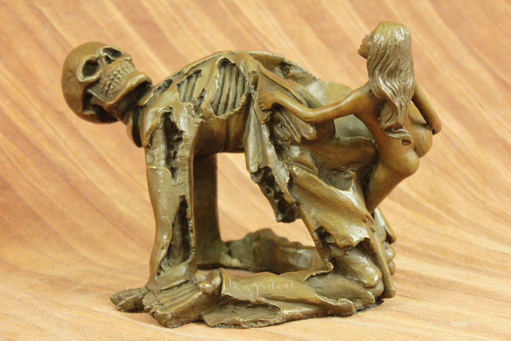 Handcrafted bronze sculpture SALE Death Of Angel With