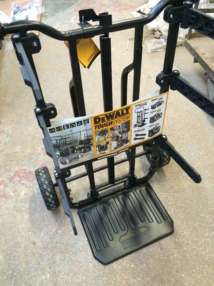 Dewalt 170324 Tough System Plastic Carry Case Trolley Only