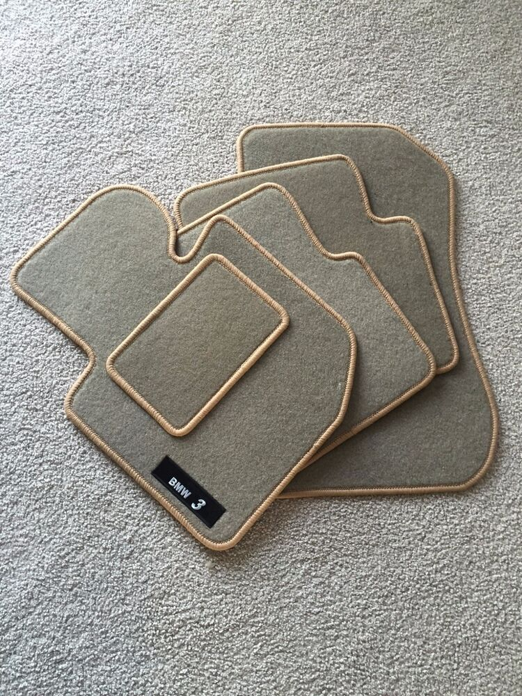 Bmw E36 Carpet Floor Mats Set Tan Ebay