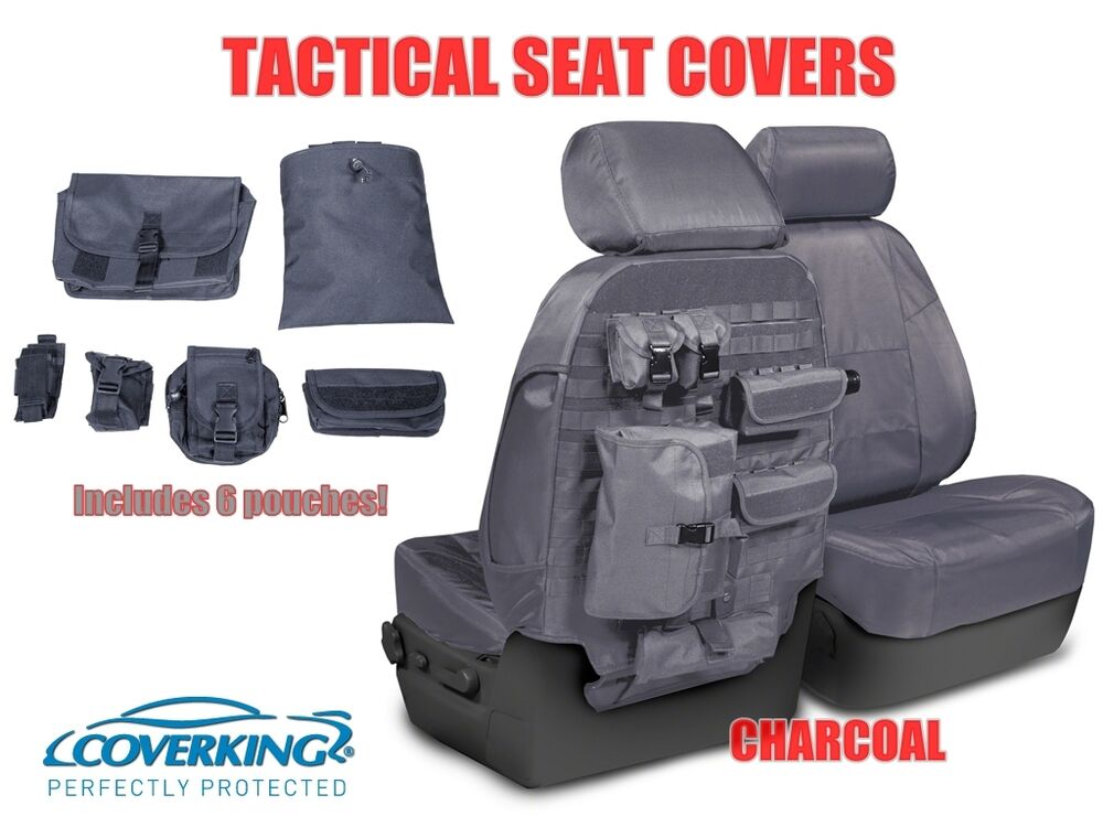 COVERKING TACTICAL MOLLE CHARCOAL CUSTOM FIT SEAT COVERS