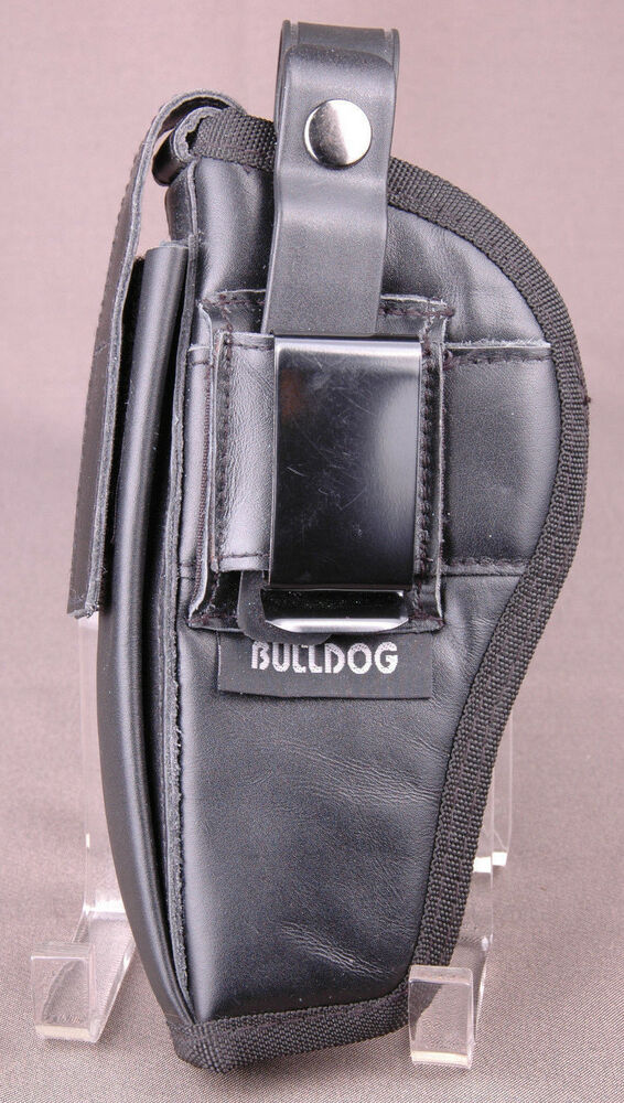 bulldog gun holsters bulldog gun holster left hand black leather pistol six 4940