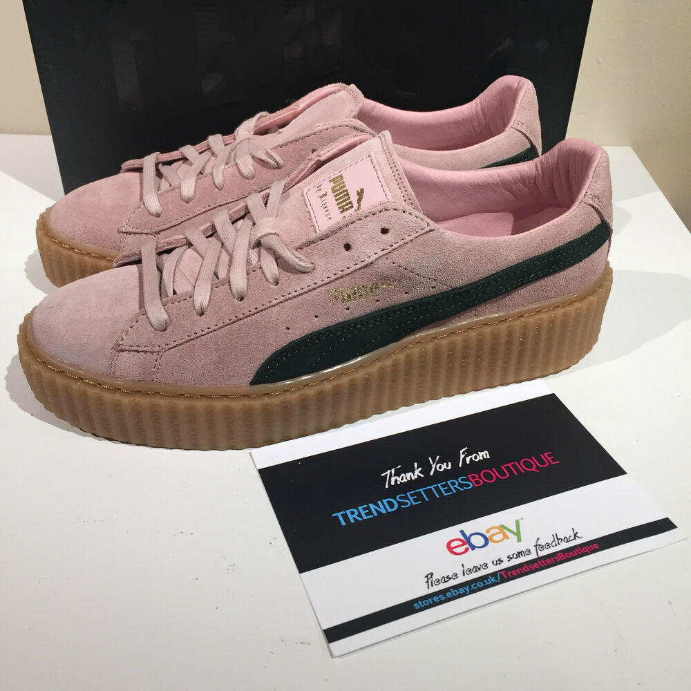 Pink Suede Shoes Puma