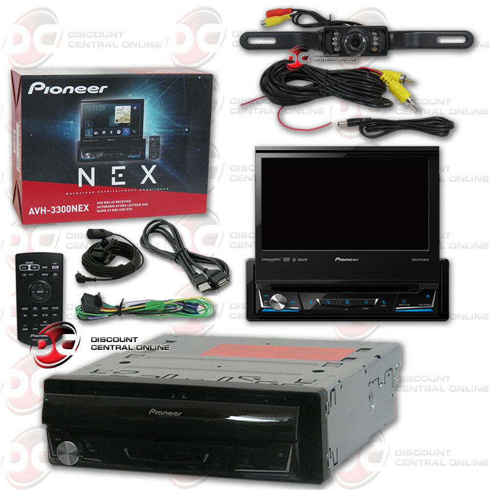brand new pioneer 7 flip out car dvd bluetooth stereo. Black Bedroom Furniture Sets. Home Design Ideas