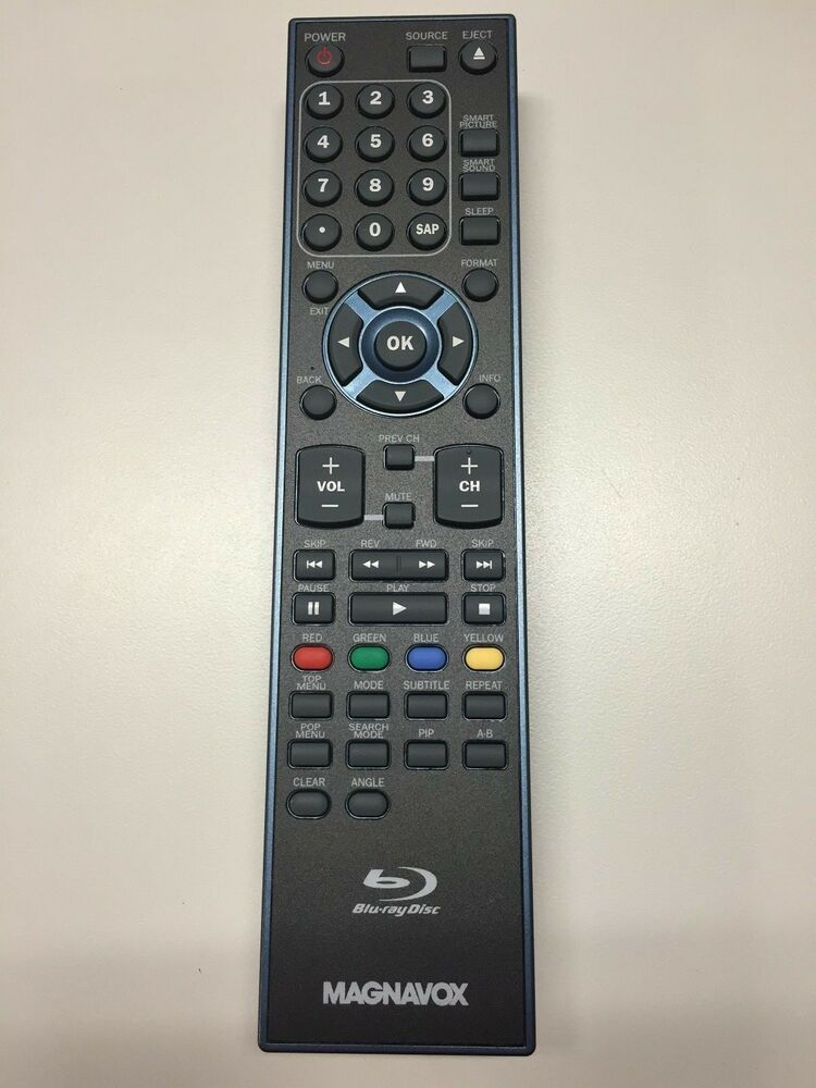 magnavox nf034ud lcd tv dvd combo remote control for 42md459b f7 w batteries ebay. Black Bedroom Furniture Sets. Home Design Ideas