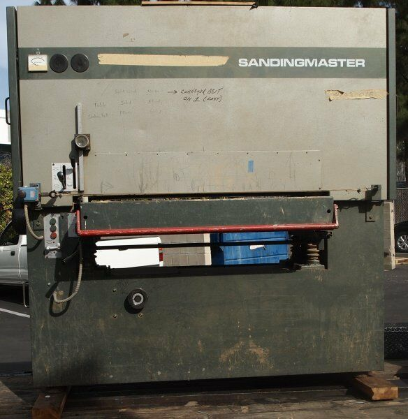 ... SCSB-1100 Wide Belt Sander (Woodworking Machinery) | eBay