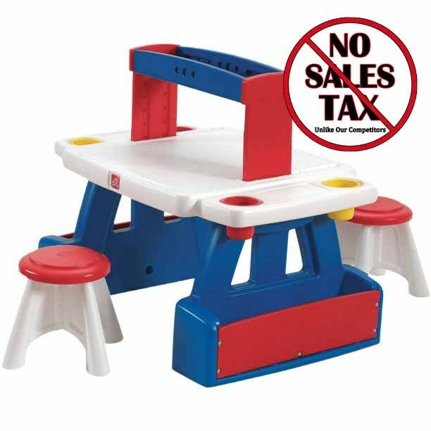 Kids Activity Table And Chairs With Storage Plastic