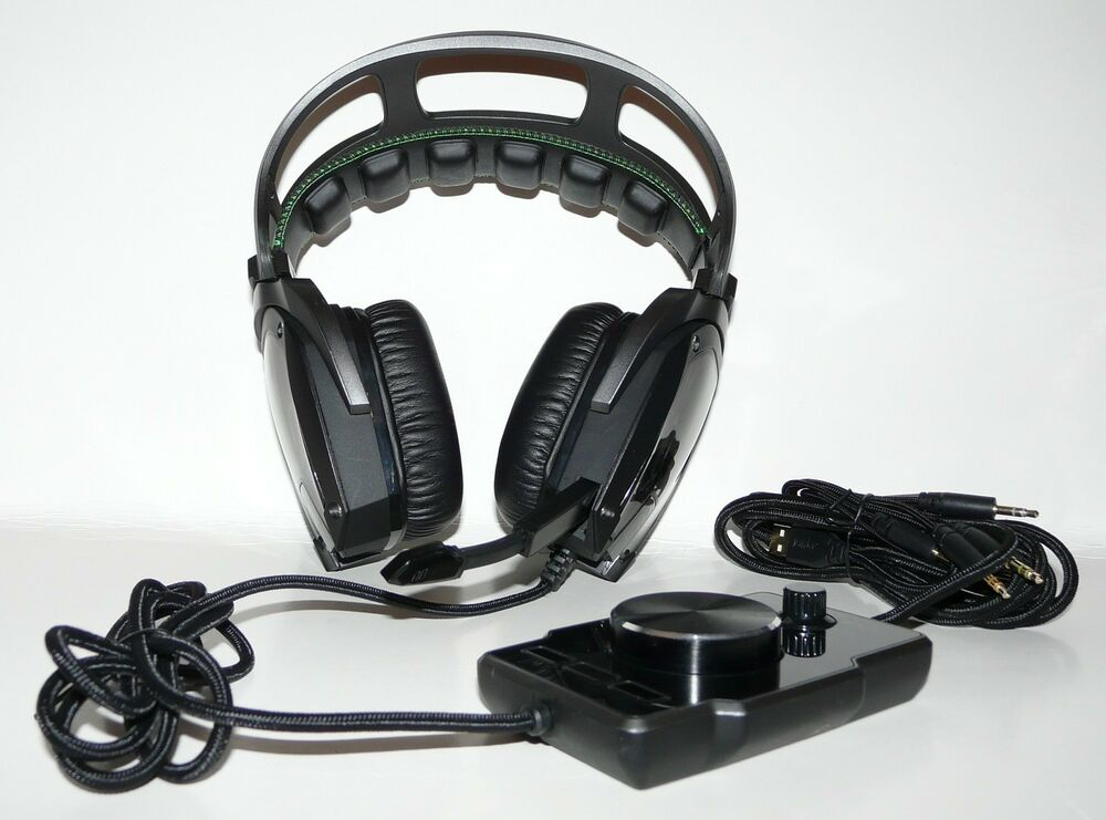 RAZER Tiamat Over-Ear 7.1 Surround Sound PC Gaming Headset 879862002664 | eBay