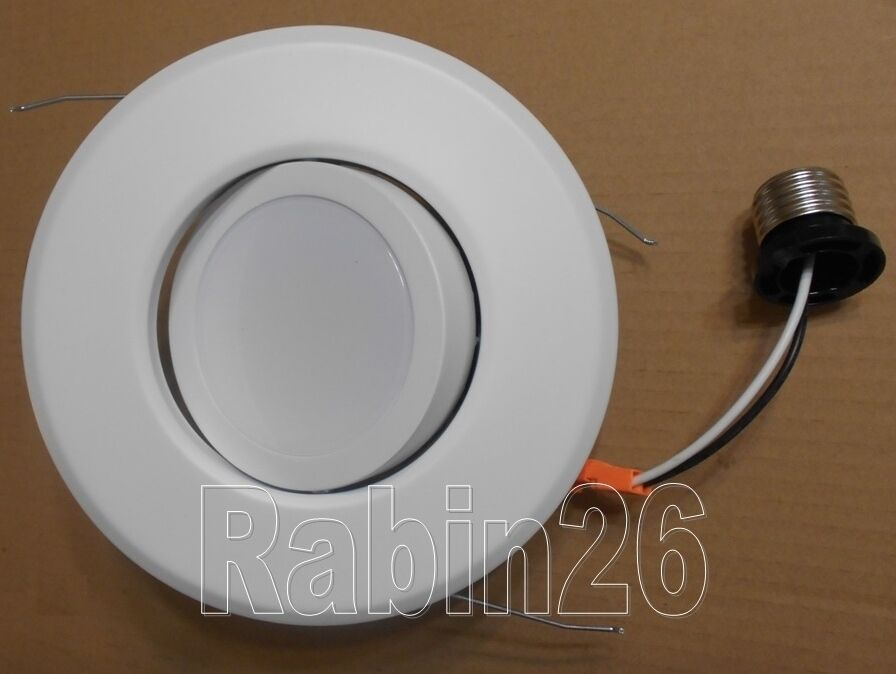 6 Quot Recessed Can Light Dimmable Led Retrofit Kit Adjustable