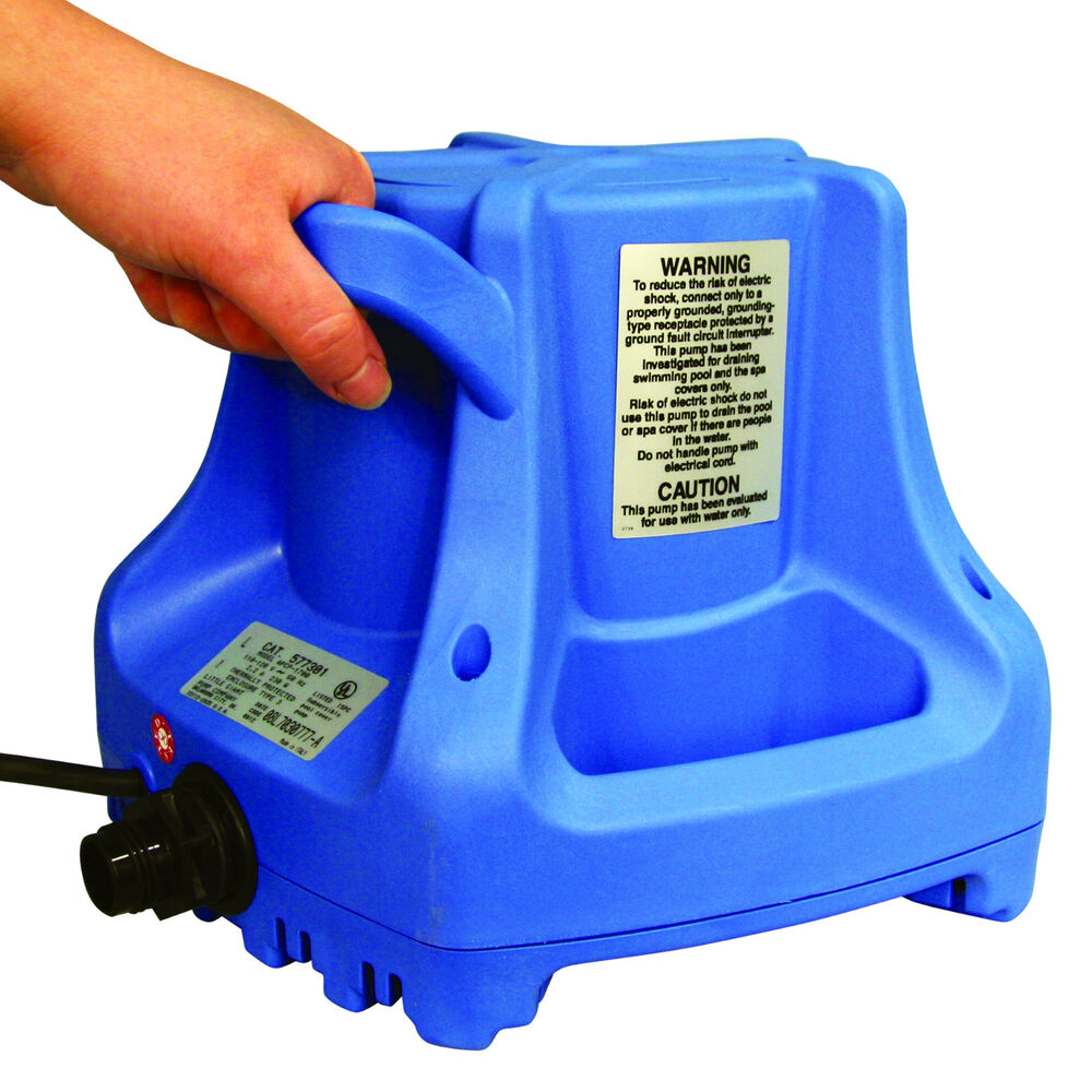 Little Giant Automatic Submersible Deluxe Pool Cover Pump Ebay