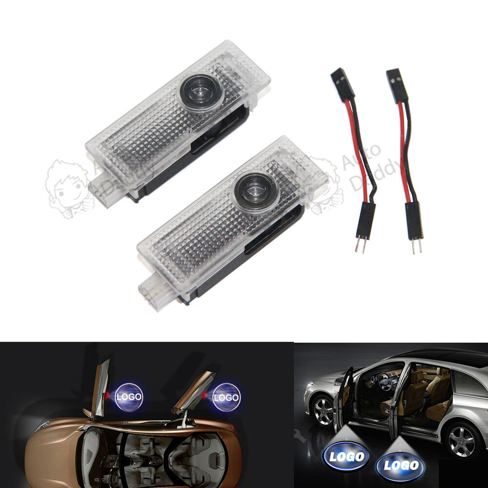 2x Led Courtesy Laser Welcome Projector Logo Shadow Car