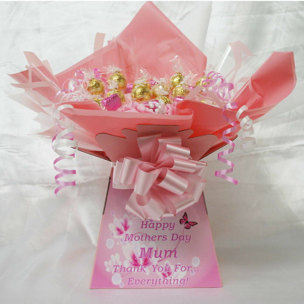 WHITE CHOCOLATE LINDOR LIMITED EDITION MOTHERS DAY CHOCOLATE BOUQUET ...