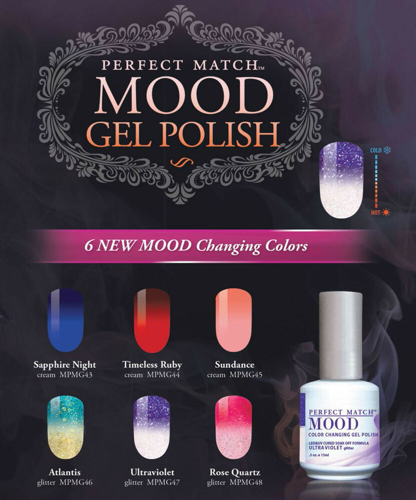 LeChat Perfect Match Gel Polish Mood 2016 Mood Collection