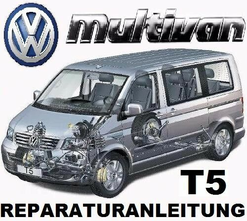 vw t5 multivan bus transporter reparaturanleitung auf cd ab ebay. Black Bedroom Furniture Sets. Home Design Ideas