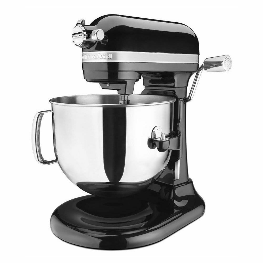 Kitchenaid ksm7586p pro line 7 qt bowl lift stand mixer onyx black ksm7586pob ebay - Copper pearl kitchenaid mixer ...