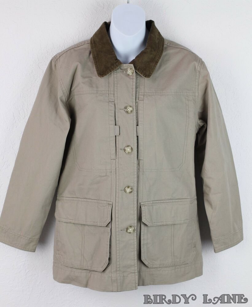 Cabelas Barn Chore Field Jacket Coat Cotton Canvas Duck ...
