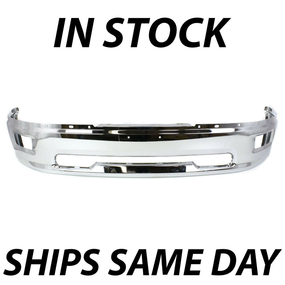 Dodge Ram 1500: NEW CHROME Front Bumper Face Bar 2009 2010 2011 2012 Dodge