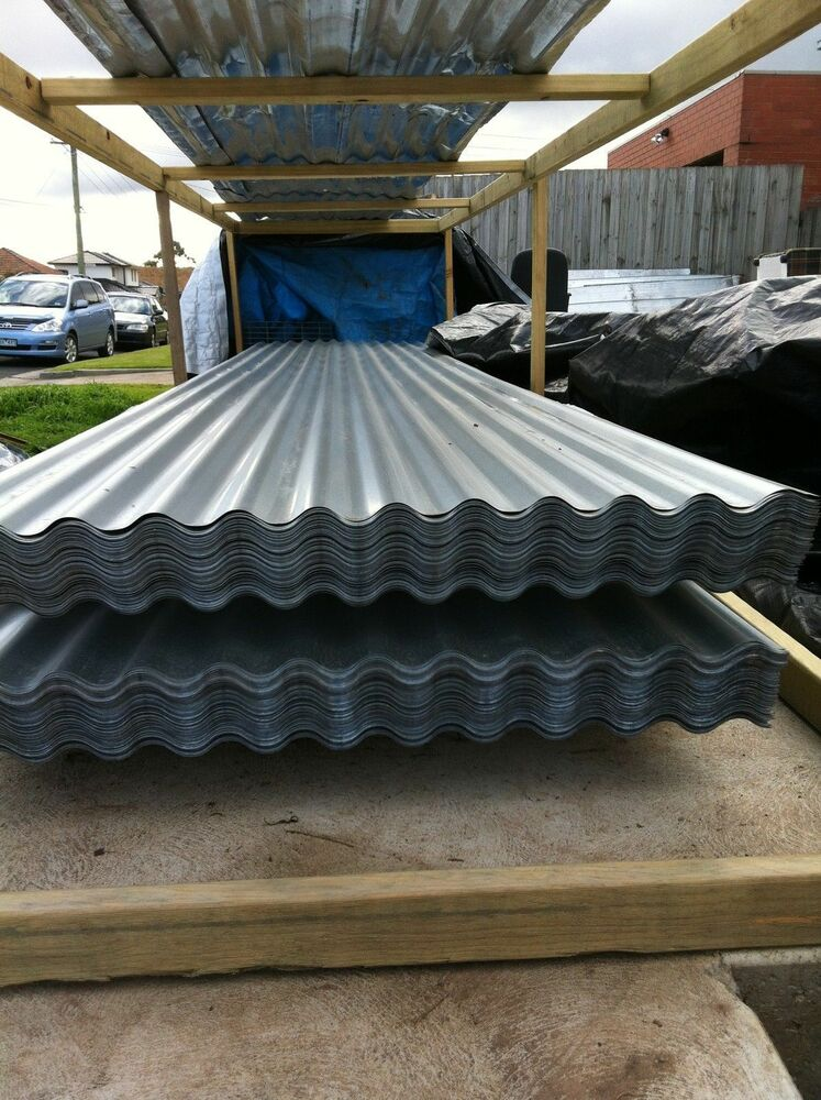 Roofing Iron Corrugated Zinc New 4 8 M X 900 Mm 16ft X