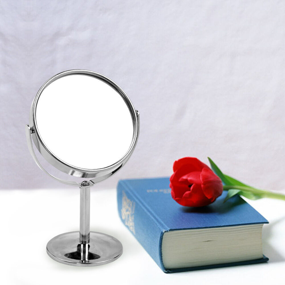 Double Sided Round Magnifying Bathroom Make Up Cosmetic Shaving Vanity Mirror Ebay