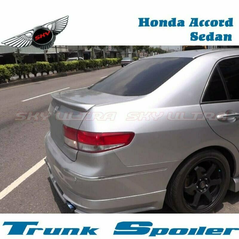 Painted Oe Type Trunk Spoiler Wing Frp For Honda Accord
