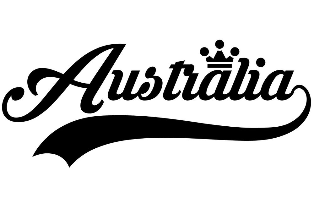 australia sticker australia vinyl wall art quote decor