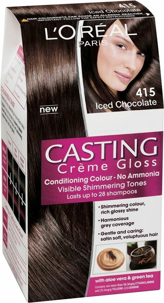 L Or 233 Al Casting Cr 232 Me Gloss 415 Iced Chocolate Permanent
