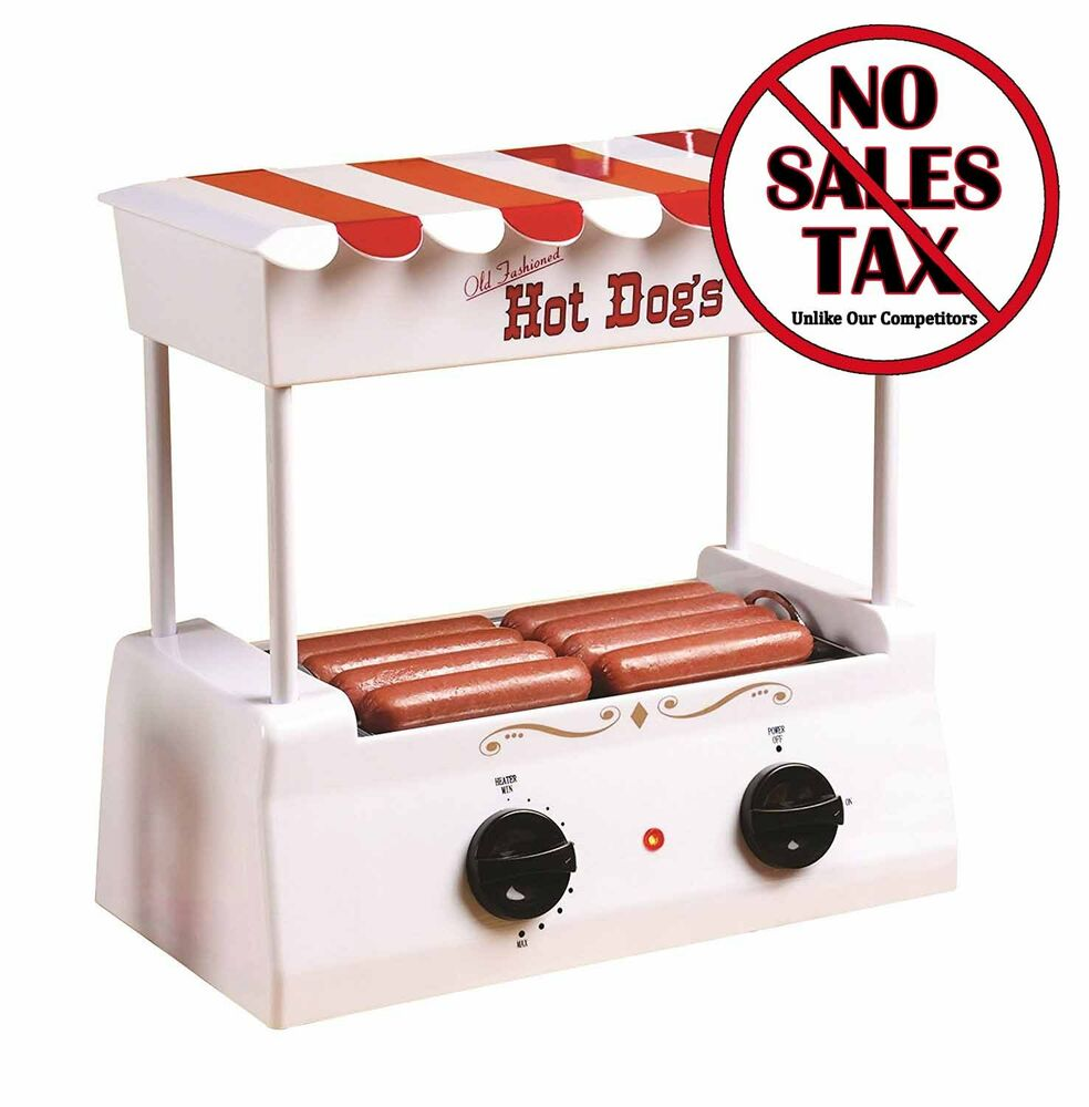 vintage hot dog roller steamer electric grill hot dog bun. Black Bedroom Furniture Sets. Home Design Ideas