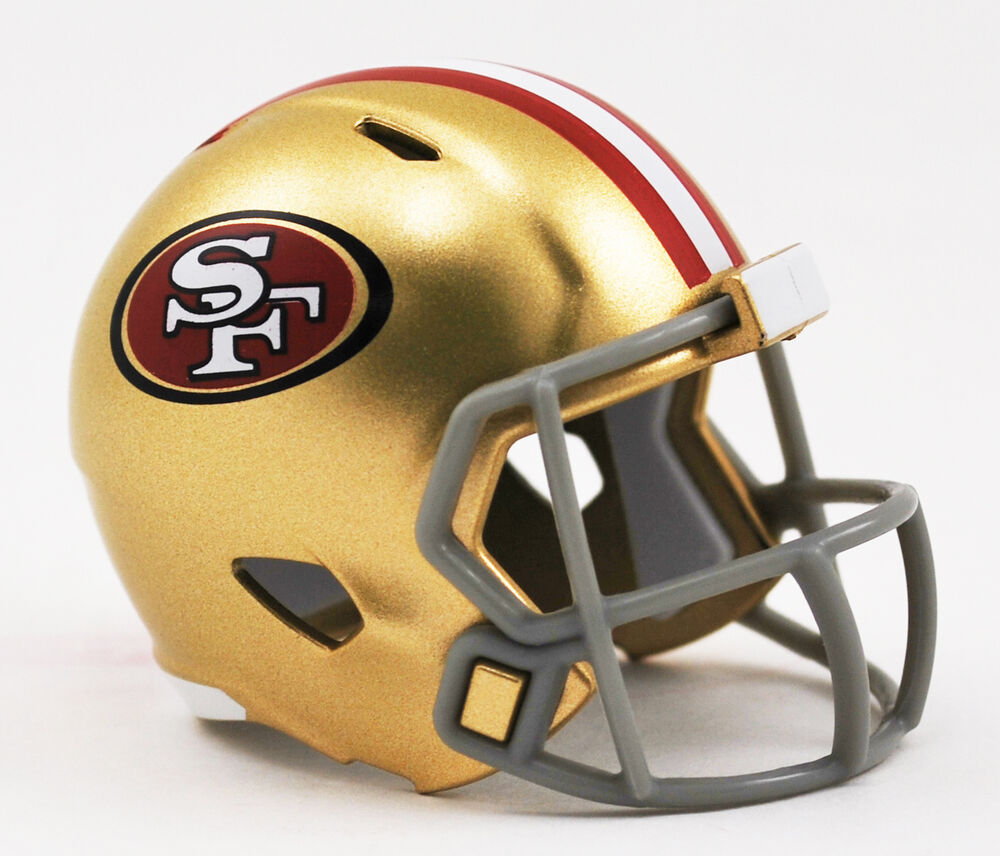 San Francisco 49ers Nfl Riddell Speed Micro Pocket Size