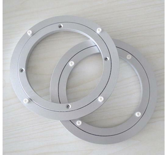 2pcs 14 39 39 350mm home hardware aluminum round lazy susan bearing turntable ebay. Black Bedroom Furniture Sets. Home Design Ideas