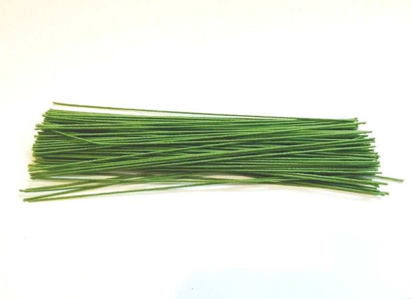 Floral Stem CLOTH wire , green cloth Wire, 6\