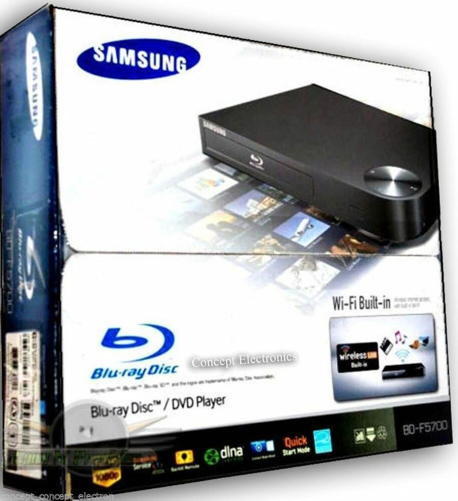 samsung bd f5700 bdf5700 blu ray disc dvd player wifi with. Black Bedroom Furniture Sets. Home Design Ideas